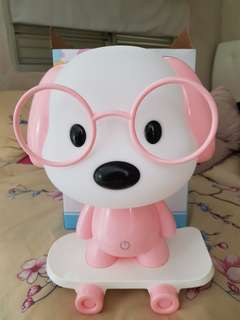 Doggy table lamp