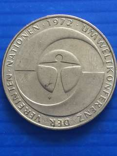 Germany UN Environmental Conference Commemorative 5 Mark 1982