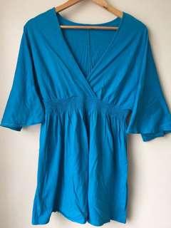 Kimono Babydoll Short Dress