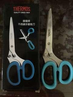🚚 Thermos膳魔師不鏽鋼多層剪刀