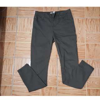 F21 Army Green Trousers