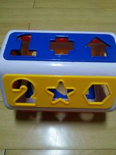 Shapes and numbers sorter