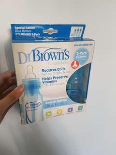 Brand New Dr Brown's Bottles 3-Pack