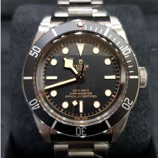 Brand New Tudor Black Bay