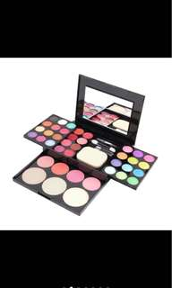 PO Makeup Eye Shadow Lip Stick Lip Gloss Palette