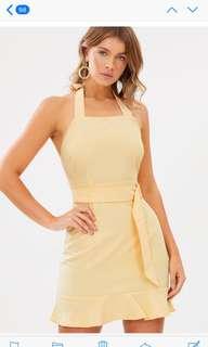 Yellow cute dresss