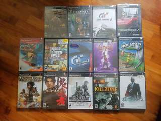 Sealed Sony Playstation 2 Classic ORIGINAL NTSC U/C Games Black Label Y fold