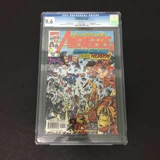 Avengers 9 CGC Marvel Comics Book Stan Lee Movie