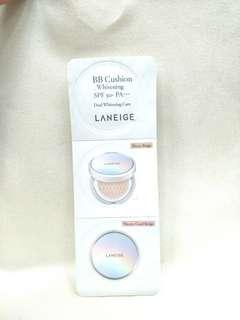 Laneige BB Cushion Whitening SPF 50+ PA+++ No. 21 (2x2g)
