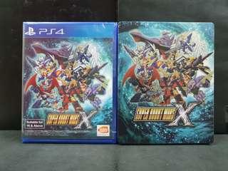 [BN] PS4 Super Robot Wars X SRW X w/Steelbook Case (Brand New)