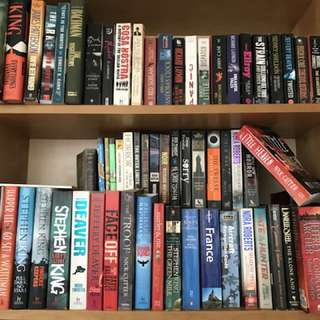 Thriller/Horror Books
