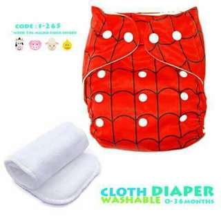 Cloth Diaper with FREE 1pc Microfiber Insert - F265