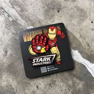 Enamel Pin Set Iron Man & Star wars