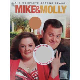 English Drama Mike Molly The Complete Second Season DVD