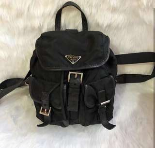Sale!!!! 100% Prada black backpack