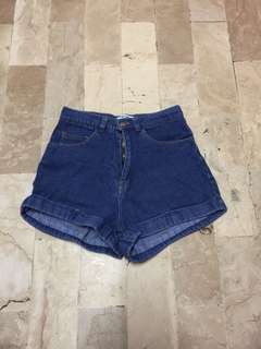 American Apparel Denim Short