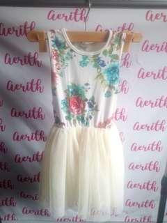 Girl's Floral Tutu Dress