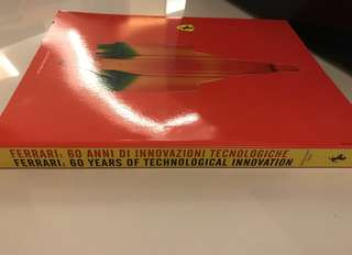 Ferrari 60 Year is Technological Innovation - Collector's Book