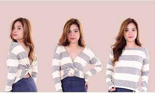 3-Way Knotted Long Sleeve