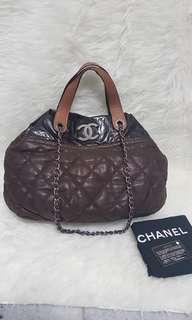 Authentic Chanel portobello brown