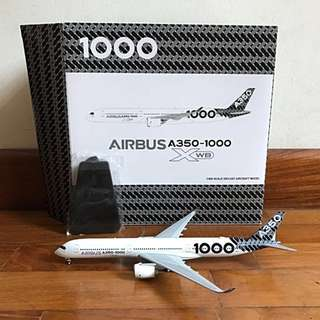 1/400 JC Wings A350-1000 Carbonfibre