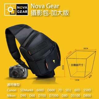 第三代升級版 NOVAGEAR 單肩斜背攝影包 單眼相機包 防盜 空氣懸掛 含防雨罩 可放腳架 加大款