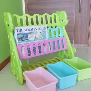 Toy and Book Shelf for Toddlers / Babies