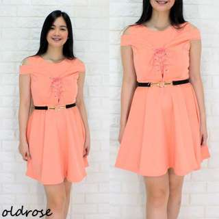 CRISCROSS DRESS (AG)