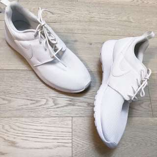 Nike Roshe Pure White Worn Once PLEASE READ DESCRIPTION