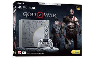 PS4 Pro God Of War Limited Edition Bundle Set