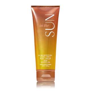 Body Cream: In The Sun by Bath & Body Works