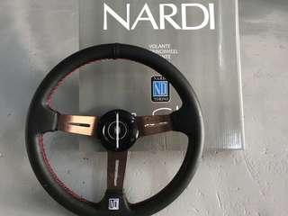 NARDI Volante Steering Wheel Ori Leather