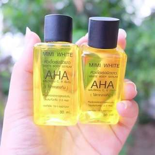 100% AHA Effective Whitening Serum