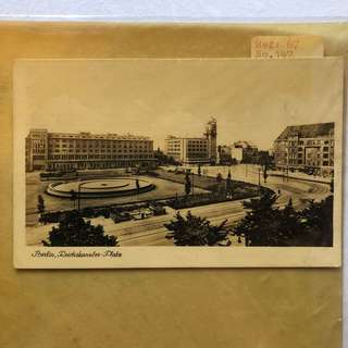 Vintage Old Postcard - Old Post Card from Berlin , Germany (14 by 9 cm)