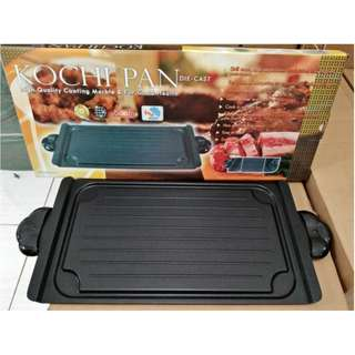 Kochi Grill Pan High Quality Alat Panggang Coating Marble Pan