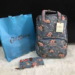 BAG AND WALLET KATH KIDSTON (AUTHENTIC OVERRUNS)