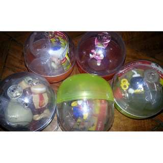 Assorted Collectible Gacha Capsules