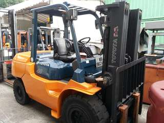 Reconditioned 4ton Toyota Diesel Forklift