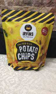 Irvins salted egg potato chips