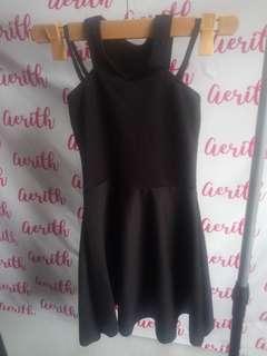 Girl's Sexy Black Dress
