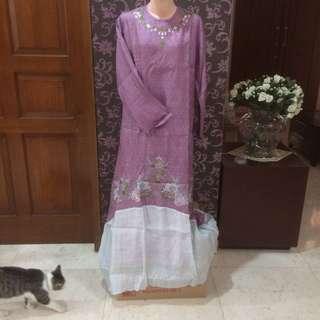 New! purple dress set