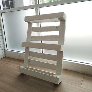 Custom made pallet wood