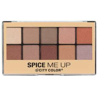CITY COLOR Spice Me Up Eye Shadow Palette