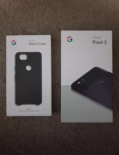 Brand New Google Pixel 2 (128GB)+ Google Case (save$300+)