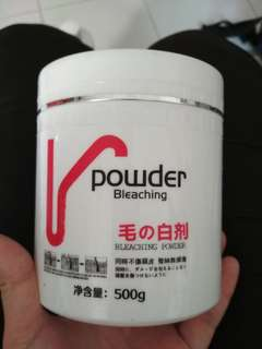 Bleach Powder/ 30% developer