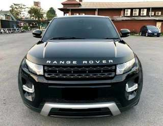 Range Roved Evoque Hari Raya Rental