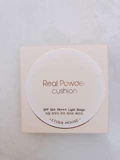 Etude House real powder cushion
