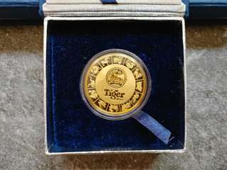 Tiger Limited Edition Medallion