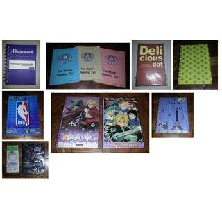 Notebooks BUNDLE