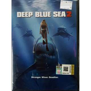 Deep Blue Sea 2 Movie DVD